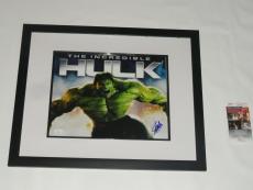 Stan Lee Signed Framed Incredible Hulk 11x14 Marvel Comics Proof Legend Rare