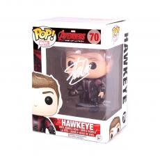 Stan Lee Signed Funko Pop! Marvel Avengers Age of Ultron Haweye #70 In-Box Action Figure