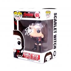 Stan Lee Signed Funko Pop! Marvel Avengers Age of Ultron Scarlet Witch #95 In-Box Action Figure