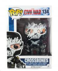 Stan Lee Signed Funko Pop! Marvel Civil War Crossbones Toy
