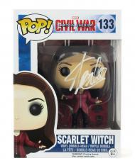 Stan Lee Signed Funko Pop! Marvel Civil War Scarlet Witch Toy