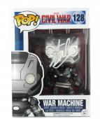 Stan Lee Signed Funko Pop! Marvel Civil War War Machine Toy