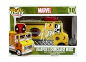 Stan Lee Signed Funko Pop Marvel Deadpool Chimichanga Truck #10 Vinyl Figure