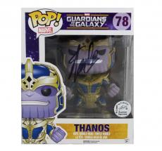 Stan Lee Signed Funko Pop! Marvel Guardians of the Galaxy Thanos Toy