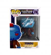 Stan Lee Signed Funko Pop! Marvel: Guardians of the Galaxy Yondu #74 Figure