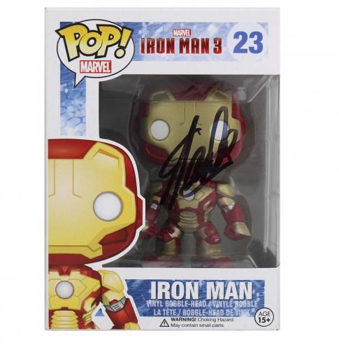 Stan Lee Signed Funko Pop! Marvel Iron Man #23 Action Figure