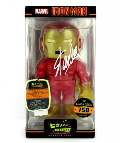 Stan Lee Signed Funko Pop! Marvel Molecular Iron Man Hikari - LE of 750