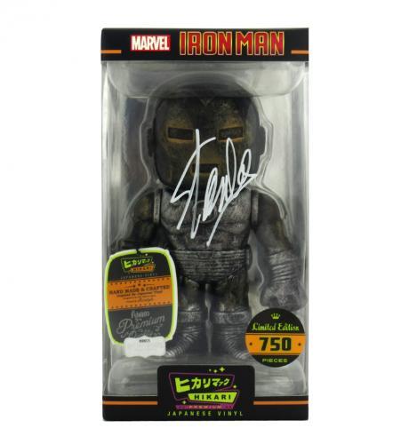 Stan Lee Signed Funko Pop! Marvel Raw Steel Iron Man Hikari - LE of 750