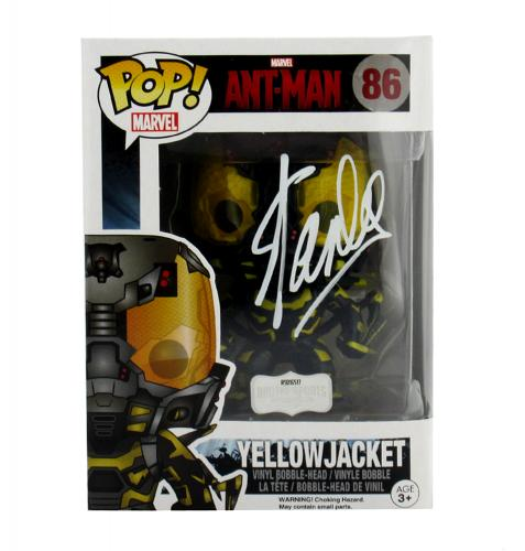 Stan Lee Signed Funko Pop! Marvel Series Ant-Man Yellow Jacket #86 Action Figure