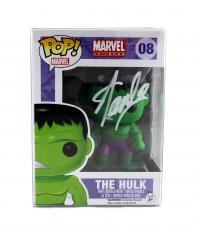Stan Lee Signed Funko Pop! Marvel Series Incredible Hulk #08 Action Figure