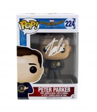 Stan Lee Signed Funko Pop! Marvel: Spider-Man Homecoming Peter Parker #224 Figure