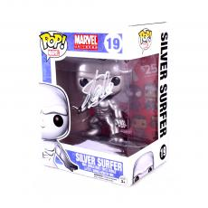 Stan Lee Signed Funko Pop! Marvel Universe Silver Surfer #16 In-Box Action Figure
