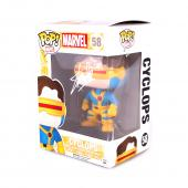 Stan Lee Signed Funko Pop! Marvel X-Men Cyclops #58 In-Box Action Figure