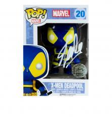 Stan Lee Signed Funko Pop Marvel X-Men Deadpool #20 Vinyl Action Figure