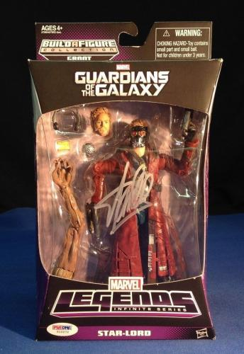 Stan Lee signed Guardians of The Galaxy Star Lord Figure PSA/DNA  #Y10272