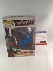 Stan Lee Signed Guardians Of The Galaxy Star-lord Funko Pop Figure Psa Dna