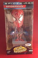 Stan Lee signed Head Knockers Spider-Man Hand Painted Figure PSADNA  # X39728