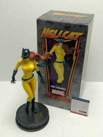 Stan Lee Signed 'Hellcat' Bowen Designs Marvel Statue *ARTIST PROOF PSA AA95855
