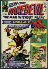 Stan Lee Signed Here Comes Daredevil #1 Comic Book (1964) PSA #Z04181