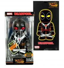 Stan Lee Signed Hikari Marvel Deadpool X-Force Edition Japanese Vinyl Figure LE 1000