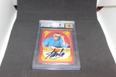 Stan Lee Signed Historic Signatures Panini Card BGS 9 Autograph Grade 10 STL 1B