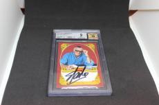 Stan Lee Signed Historic Signatures Panini Card BGS 9 Autograph Grade 10 STL 1C