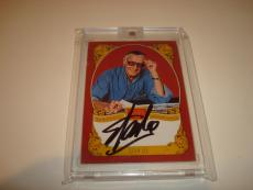 Stan Lee Signed Historic Signatures Panini Card Golden Age Autographed #STL 1B