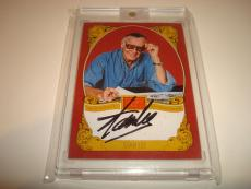 Stan Lee Signed Historic Signatures Panini Card Golden Age Autographed #STL 1D