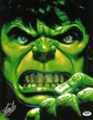 Stan Lee Signed Hulk Authentic Autographed 11x14 Photo PSA/DNA #W80078