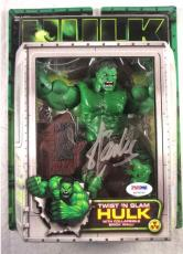 Stan Lee Signed Hulk Autographed Signed Action Figure Certified PSA/DNA COA