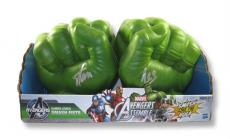 Stan Lee Signed Hulk Gamma Green Smash Fists Autographed Signed PSA/DNA COA