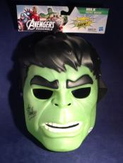 Stan Lee signed Hulk Glow in the Dark Hero Mask PSA/DNA  # X72426