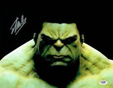 Stan Lee Signed Hulk Marvel Comics Authentic Autographed 11x14 Photo PSA/DNA #3