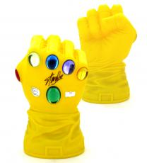 Stan Lee Signed Iconic Marvel Infinity Gaunlet Full Size Bank