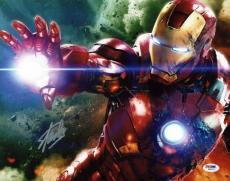 Stan Lee Signed Iron Man 11X14 Photo Marvel Comics PSA/DNA 1