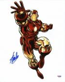 Stan Lee Signed Iron Man 11X14 Photo Marvel Comics PSA/DNA 2