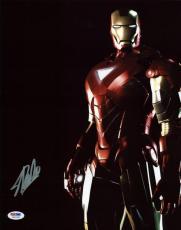 Stan Lee Signed Iron Man 11X14 Photo Marvel Comics PSA/DNA 3