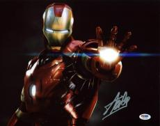Stan Lee Signed Iron Man 11X14 Photo Marvel Comics PSA/DNA 5