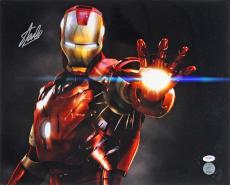 Stan Lee Signed Iron Man 16X20 Photo Marvel Comics PSA/DNA 2