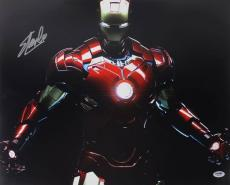 Stan Lee Signed Iron Man 16X20 Photo Marvel Comics PSA/DNA 3
