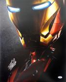 Stan Lee Signed Iron Man 16X20 Photo Marvel Comics PSA/DNA 8