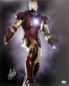 Stan Lee Signed Iron Man 16X20 Photo Marvel Comics PSA/DNA 9