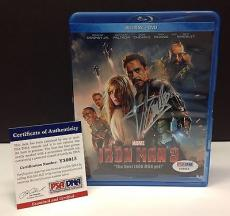 Stan Lee Signed IRON MAN 3 Blu-Ray Movie Cover - PSA/DNA # Y36015