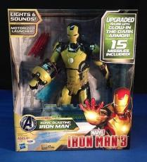 Stan Lee signed Iron Man 3 Sonic Blasting Iron Man  Figure PSADNA  #X72611