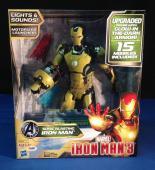 Stan Lee signed Iron Man 3 Sonic Blasting Iron Man  Figure PSA/DNA  #X72611