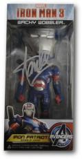 Stan Lee Signed Iron Man 3 Wacky Wobbler Avengers Iron Patriot PSA/DNA X32329