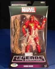 Stan Lee signed Iron Man Figure PSA/DNA  #Y10274