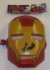 Stan Lee Signed Iron Man Mask Marvel Autograph Excelsior Hologram Exact Proof