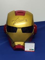Stan Lee Signed Iron Man Mask/Helmet *Marvel Comics Legend JSA PSA