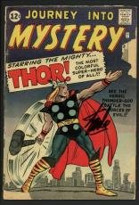 Stan Lee Signed Journey Into The Mystery #89 Comic Book Thor 1963 PSA #W18686